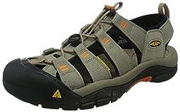 KEEN Men\'s Newport H2 Sandal, Brindle/Sunset, 8 M US