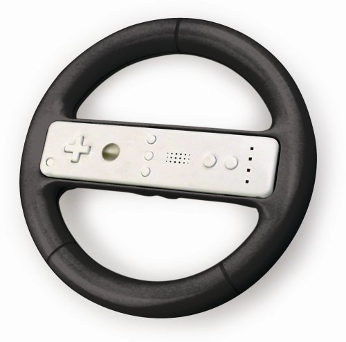 Wii Racing Wheel (Wii Nascar Steering Wheel compare prices)