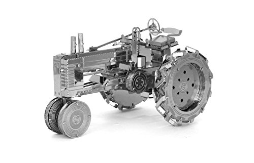 Fascinations Metal Earth Farm Tractor 3D Metal Model Kit (Building Models For Adults compare prices)