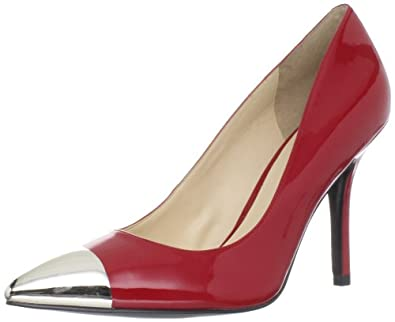Guess Women's Myrick Pump,Medium Red,6 M US