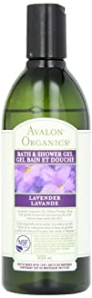 Avalon Organics Lavender Bath and Shower Gel 12 Ounce