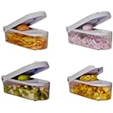 Vegetable & Fruit Chopper Cutter With Chop Blade & Cleaning Tool