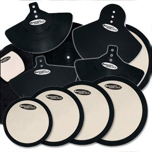 DW Drum Workshop Complete Deadhead Pad Set by Drum Workshop, Inc.