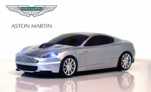 Aston Martin DBS Wireless Auto-Mouse (Argento) Senza fili ottico