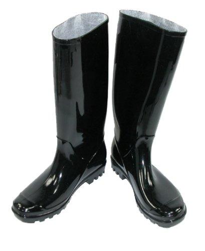 Womens Rubber Black Rain Boots Boot Ri
