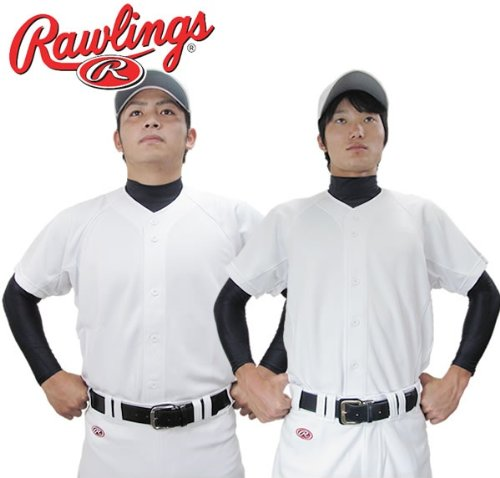 野球用品/練習用ユニフォームシャツ Rawlings(ローリングス) エアーインテイク仕様 RY160N XOサイズ