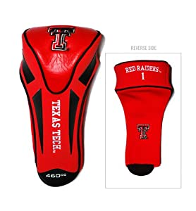 Brand New Texas Tech University Red Raiders Single Apex Headcover by Things for You