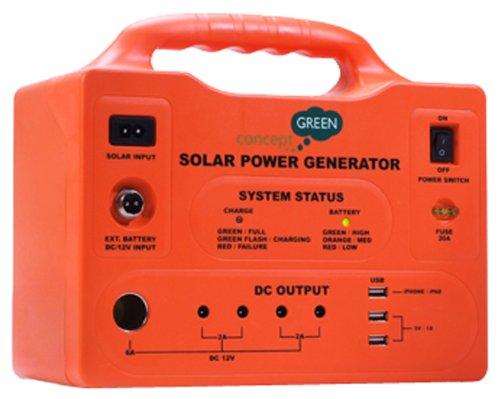 Concept Green Energy 20 Watt Solar Generator