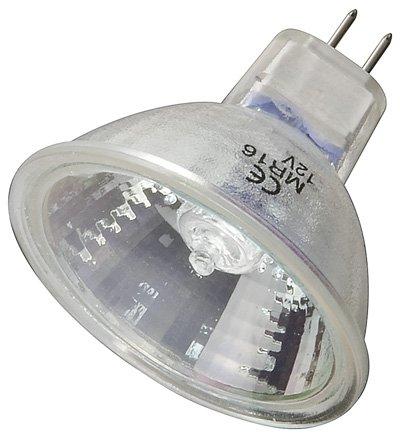 Goobay Halogen Spiegellampemit Schutzglas, SockelmR16, 20 W 36°Flood 3er Blister HAL MR16 20-36 S SB (3 Stück)