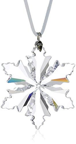 Swarovski 5059028 - Decorazione natalizia da appendere, a forma di fiocco di neve, 5 x 5 cm
