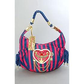 Betsey Johnson The Large Hobo in Navy Sailor Girl,Bags (Handbags/Totes) for Women