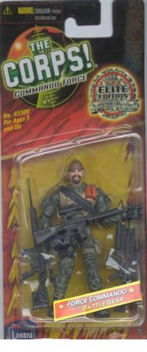 Buy Low Price Lanard The Corps Commando Force Elite Edition Highly Detailed 4 Inch Military Figure FLASHFIRE Lanard Toys (B000E7T74O)