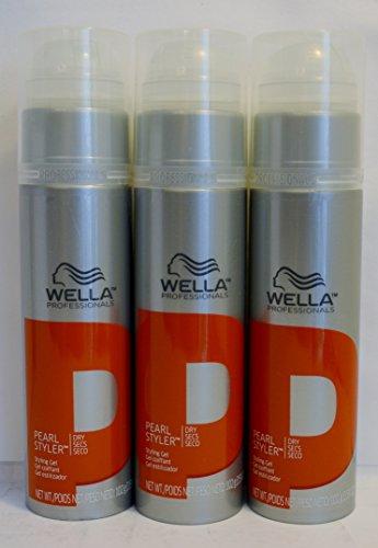wella pearl styler styling gel 3 pack wella. Black Bedroom Furniture Sets. Home Design Ideas