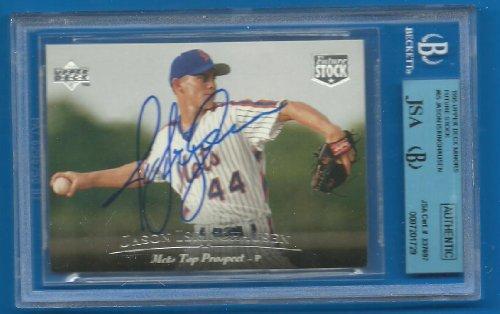 JASON ISRINGHAUSEN Signed 1995 Upper Deck RC JSA BGS Mets A