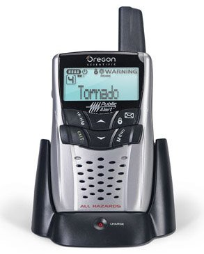 Oregon Scientific WR602 Weather Radio with Charge Cradle by Oregon Scientific