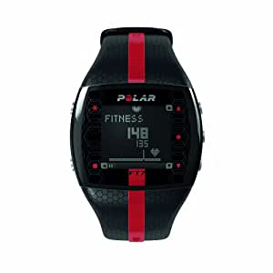 Polar FT7M Heart Rate Monitor and Sports Watch - Black/Red