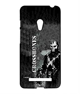 Block Print Company Greybones Phone Cover for Asus Zenfone 5