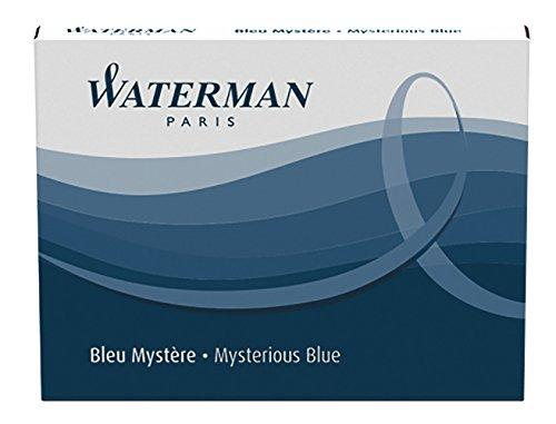 waterman-cartuchos-de-tinta-permanente-para-pluma-estilografica-color-azul