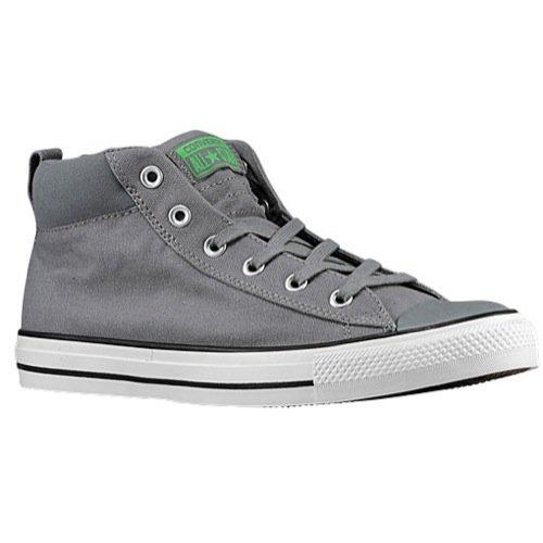 Converse Unisex Chuck Taylor All Star Street Mid Mason/Mouse/Emerald Sneaker - 9 Men - 11 Women