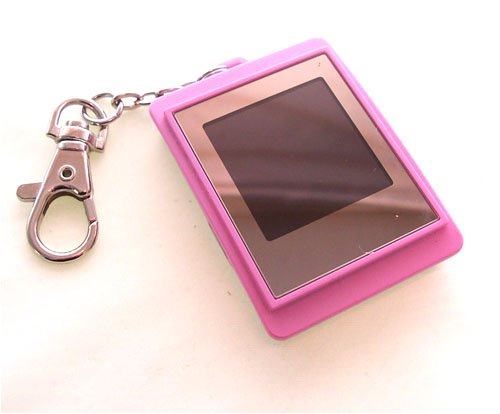 1.5 Inch digital photo keyring with DPF mate- Pink