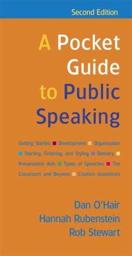 Pocket Guide to Public Speaking