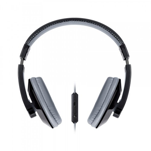 Urban Beatz Tempo Headphone With Mic - Black/Sliver (M-Hm710)