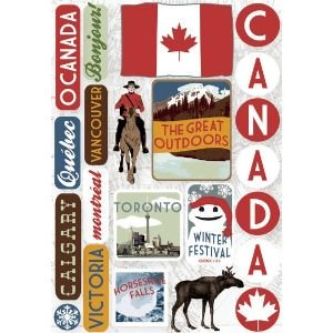 CRDSTCK STIX 5.5x9 CANADA Papercraft, Scrapbooking (Source Book)