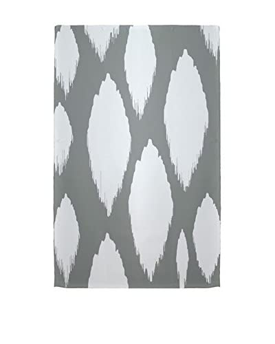 e by design Ogee Rug, Grey/Ivory