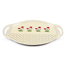 Floral Twinkles Oval Serving Platter