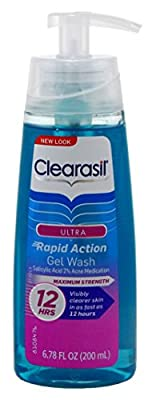 Clearasil Ultra Rapid Action Gel Wash 6.78oz