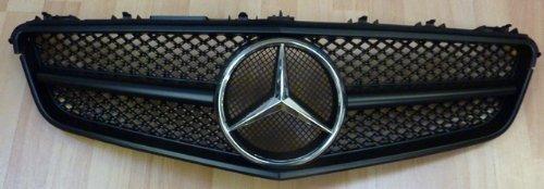 Mercedes W207 E Class Cabriolet Coupe Sport grill in Matt Schwarz