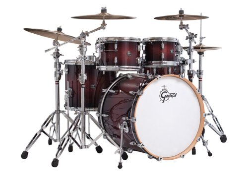 Gretsch New Renown Maple 3-Piece Rock Drum Set Shell Pack - Cherry Burst