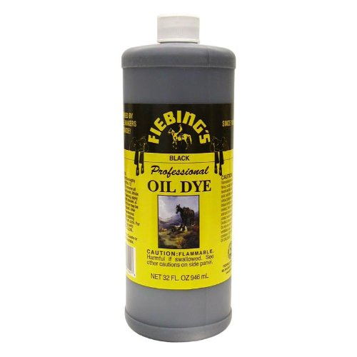 buy now fiebing 39 s professional leather oil dye 32 ounces black best price in amz automotive. Black Bedroom Furniture Sets. Home Design Ideas