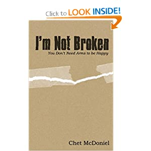 I'm Not Broken: You Don'T Need Arms To Be Happy