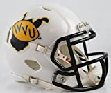 WEST VIRGINIA MOUNTAINEERS NCAA Riddell Revolution SPEED Mini Football Helmet WVU (THROWBACK)