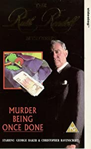 Ruth Rendell Mysteries: Murder Being Once Done [VHS]