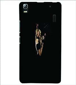 PRINTSWAG DANCING GIRL Designer Back Cover Case for LENNOVO A7000 PLUS