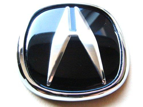 Automotive Exterior Accessories ACURA JDM Black Hood Trunk Emblem - Acura emblem