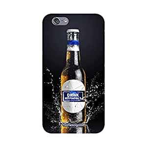 HomeSoGood Responsibility To Drink Beer Black 3D Mobile Case For iPhone 6 (Back Cover)