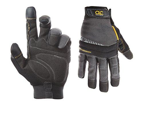 Custom Leathercraft 125M Handyman Flex Grip Work Gloves, Medium