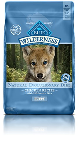 Blue Buffalo Wilderness Chicken Dry Puppy Food, 11 lbs.