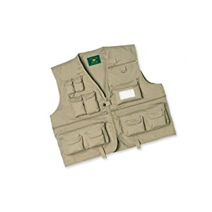 Crystal river c r fly fishing vest tan for Fishing vest amazon