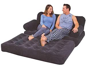 Globatek dbl inflatable sofa bed kitchen home for Sofa bed amazon uk