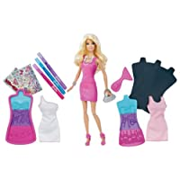 Barbie Fashion Design Plates Doll