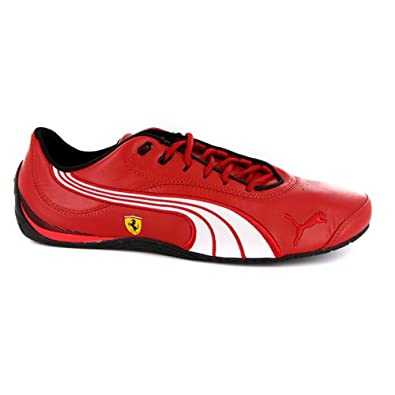 Mens Puma Drift Cat Iii Sf Nm Ferrari Red Trainers Uk 8 5
