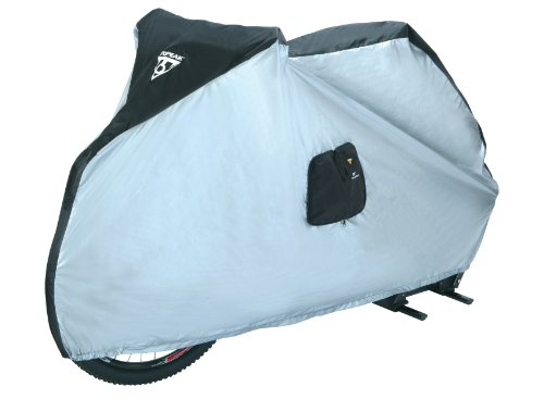 Topeak Bike Cover for 29Er 190T Nylon Uv-Proof (Black/Silver, 77.2x24.8x41.3-Inch)