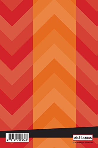 Etchbooks Rose, Chevron, Wide Rule