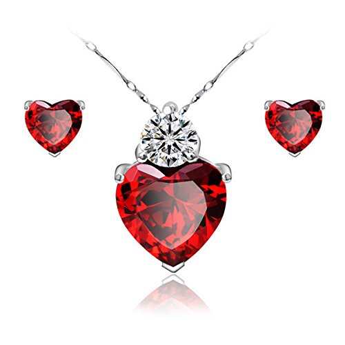 gilind-925-sterling-silver-garnet-heart-necklace-and-earrings-set-for-women-gift-box