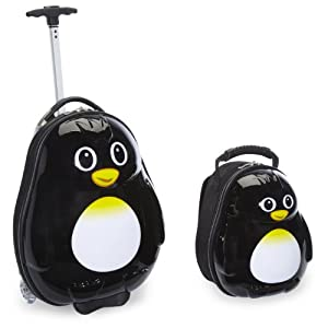 Travel Buddies Luggage Set, Percy Penguin
