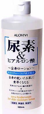 東京アロエ 尿素&ヒアルロン酸 全身化粧水 500